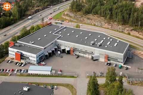 Toimitilat Vantaan   Aerocenter, Junkersintie 1   ulkokuva 1