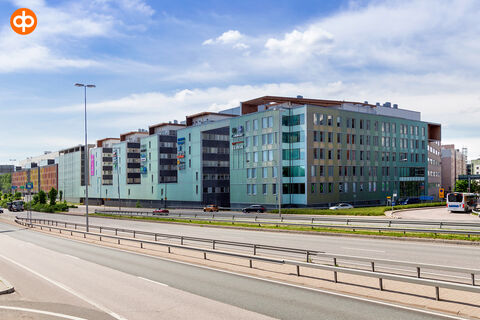 Toimitilat Espoo | Alberga Business Park - E-talo, Bertel Jungin aukio 1 | ulkokuva