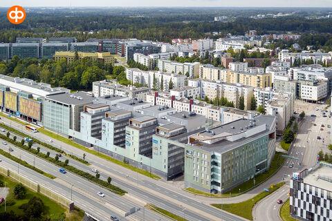 Toimitilat Espoo | Alberga Business Park - E-talo, Bertel Jungin aukio 1 | ilmakuva
