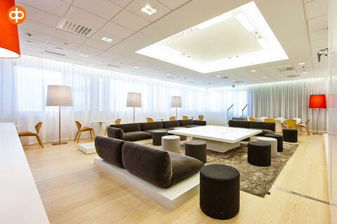 Toimitilat Espoo | Alberga Business Park - E-talo, Bertel Jungin aukio 1 | lounge