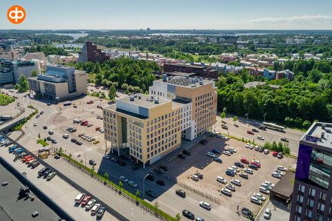 Toimitilat Helsinki | Mannerheimintie 113 | ilmakuva
