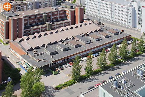 Toimitilat Helsinki | Valimotie 12-14 | ilmakuva
