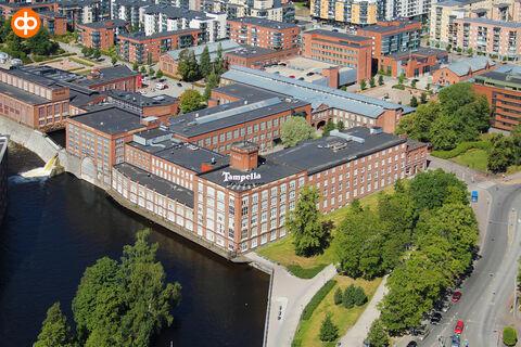 Tampereen Kelloportinkatu 1 toimitila
