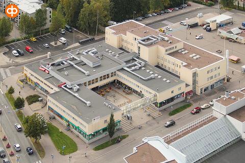 Toimitilat Vantaa   Tikkurilan Kauppatalo, Peltolantie 2   ilmakuva
