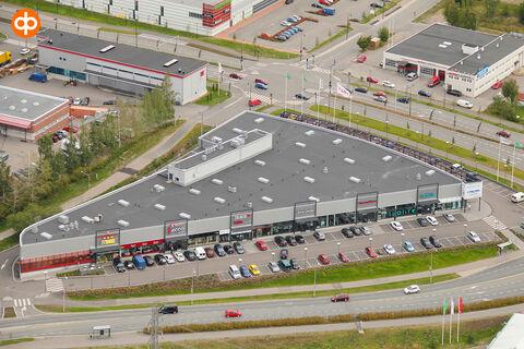 Toimitilat Vantaa   Tammiston Tähti, Nilsaksenpolku 2   ilmakuva