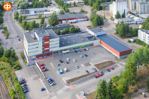 Business premises Järvenpää | Liikekeskus Aalloppi, Myllytie 1 | aerial picture 01