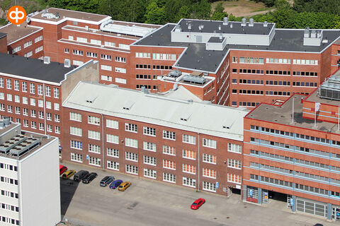 Toimitilat Helsinki | Kuortaneenkatu 5, Tekosilkkikutomo | Ilmakuva