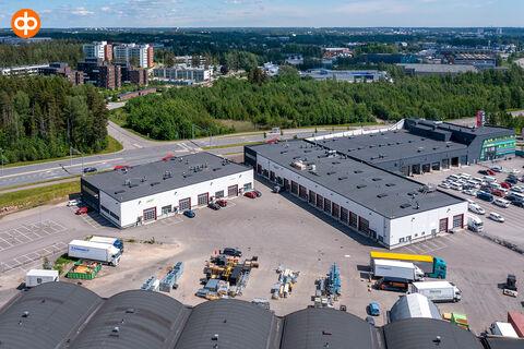 Toimitilat | Vantaa | Perintötie 8B-C | Avia Logistics Center | ilmakuva