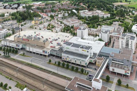 Toimitilat Helsinki   Malminkaari 13-19, Kauppakeskus Malmin Nova   ilmakuva