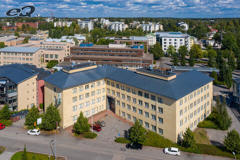 Toimitilat Järvenpää | Yhteiskouluntie 13 | ilmakuva