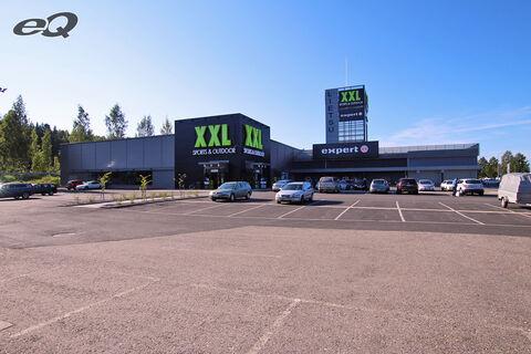 Toimitilat Tampere | XXL Sport ja Power, Taninkatu 1 | ulkokuva 2