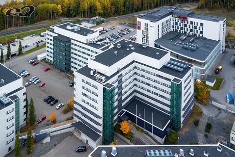 Toimitilat Tampere | F-Medi Epsilon, Biokatu 12, Tampere | ilmakuva