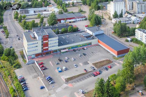 Toimitilat Järvenpää | Liikekeskus Aalloppi, Myllytie 1 | ilmakuva 01