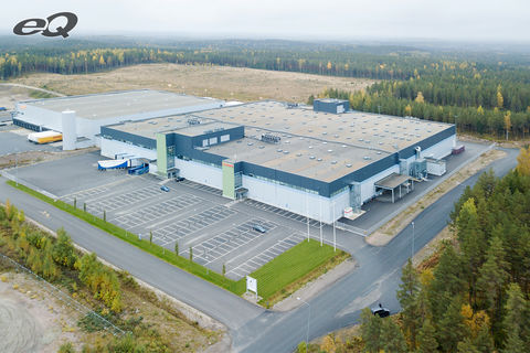 Toimitilat Hämeenlinna   Coveris   Länsiportintie 15   ilmakuva