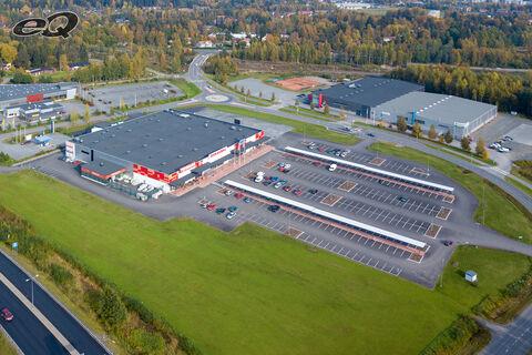 Toimitilat Ylojarvi   Elovainion liikekeskus, Elotie 9   ilmakuva