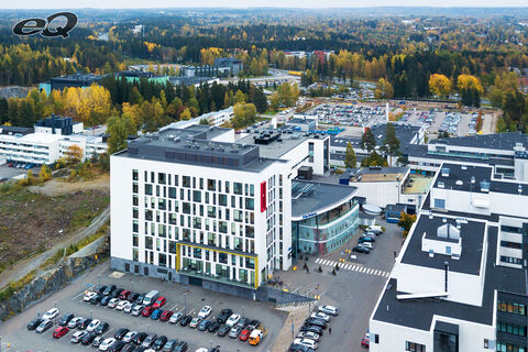 Hoivatilat Tampere | Tays Silmäkeskus | Biokatu 14 | ilmakuva