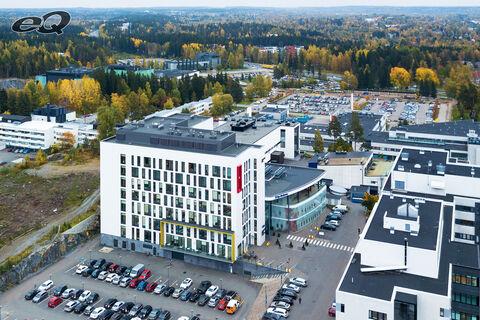 Hoivatilat Tampere   Tays Silmäkeskus   Biokatu 14   ilmakuva