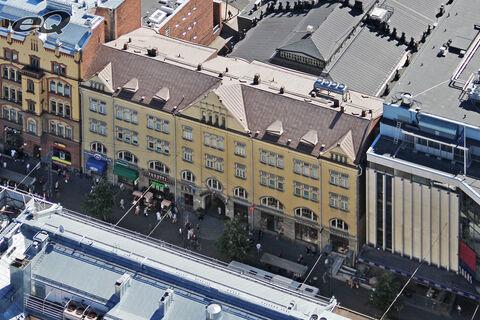 Toimitilat Tampere | Hämeenkatu 19 | ilmakuva