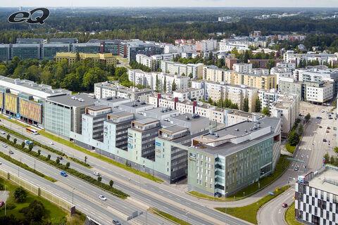 Toimitilat Espoo   Alberga Business Park B-talo   ilmakuva