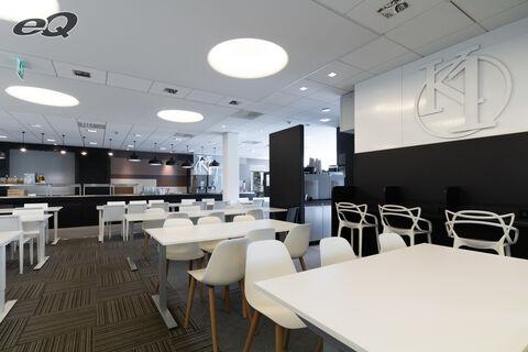 Toimitilat Espoo   Alberga Business Park C-talo   ravintola