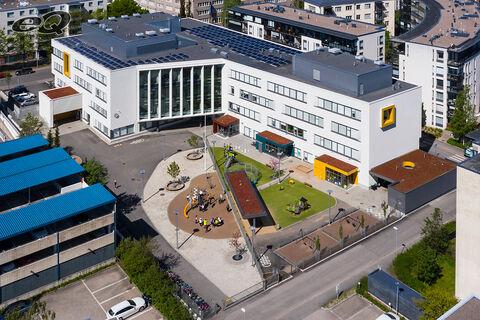 Toimitilat Helsinki | Vattuniemenkatu 23 | ilmakuva