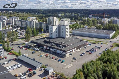 Tampere Toimitilat   Liikekeskus Vinkkeli, Juvankatu 14   ilmakuva 1