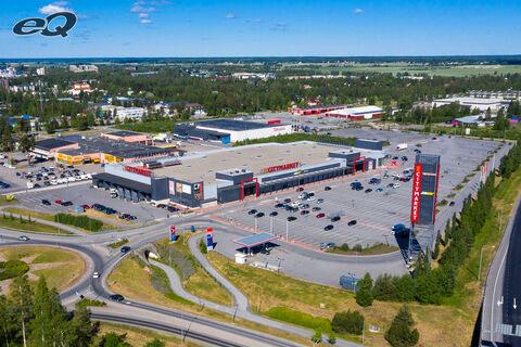 Liiketilat Seinäjoki | K-Citymarket Päivölä | Väinämöinen 2 | ilmakuva 1