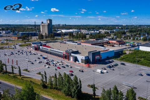 Liiketilat Seinäjoki | K-Citymarket Päivölä | Väinämöinen 2 | ilmakuva 2