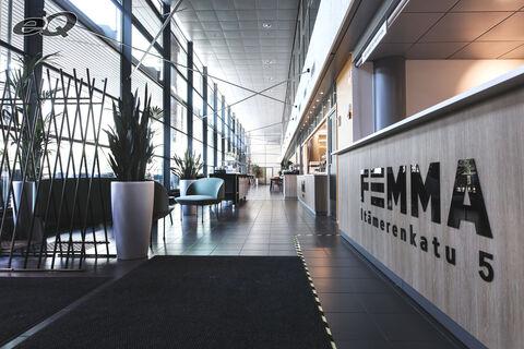 Toimitilat Helsinki   Femma – Itämerenkatu 5   aula