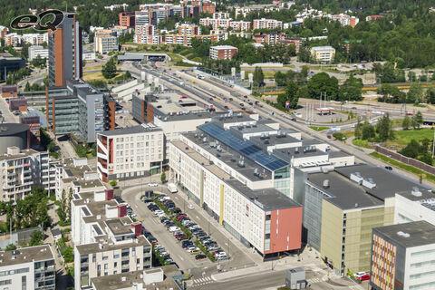Toimitilat, Espoo   Bertel Jungin aukio 5-7, Alberga Business Park   ilmakuva1
