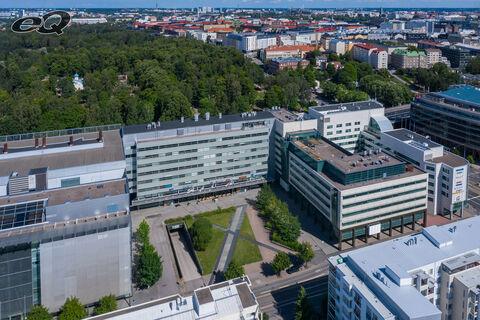 Toimitilat, Helsinki | Femma | Itämerenkatu 5 | ilmakuva