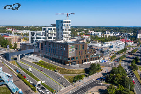 Liiketilat Helsinki | Hertsi | Insinöörinkatu 2 | ilmakuva 1