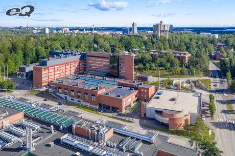 Toimitilat, Espoo | Tietotie 6 | ilmakuva