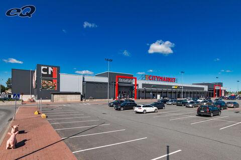 Liiketilat Seinäjoki | K-Citymarket Päivölä | Väinämöinen 2 | maakuva 2