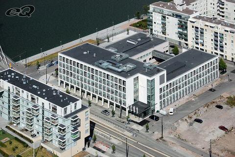 Hoivakiinteistöt Helsinki   Aida Hotel Helsinki   Saukonpaadenranta 2   ilmakuva