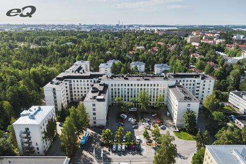 Toimitilat Helsinki   Tenholantie 10   ilmakuva