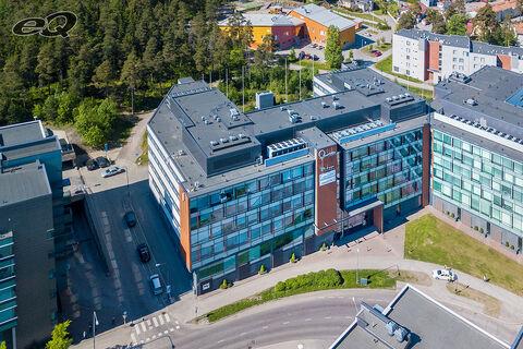 Toimitilat Espoo, Quartetto Business Park Gongi, Linnoitustie 7, ilmakuva