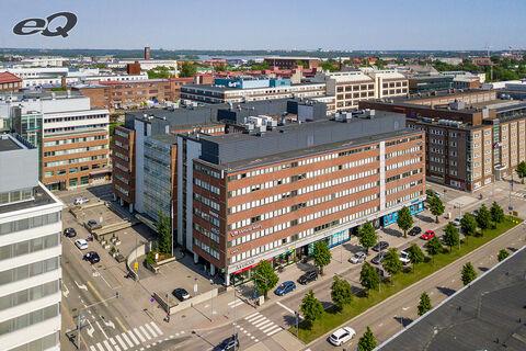 Toimitilat, Helsinki   Teollisuuskatu 21   ilmakuva