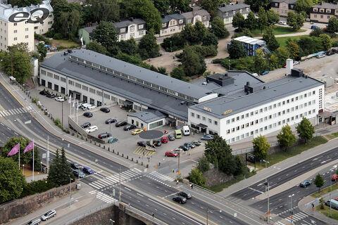 eQ toimitilat Helsinki | Sturenkatu 21 | Ilmakuva