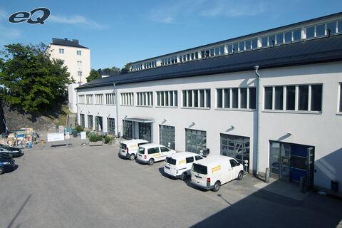 eQ toimitilat Helsinki | Sturenkatu 21 | Julkisivukuvaa sisäpihalta