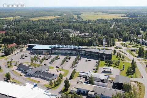 Toimitilat, Oulunsalo | Karhuojantie 2, Kauppakeskus Kapteeni | ilmakuva