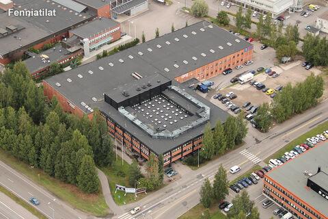 Toimitilat Helsinki   Ruosilantie 2   ilmakuva
