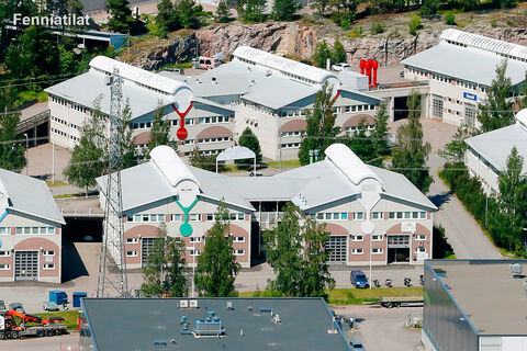Toimitilat Vantaa | Koivuhaanportti | ilamkuva