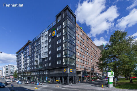 Toimitilat Tampere | Tampereen Rautatienkatu 21 | ulkokuva 1