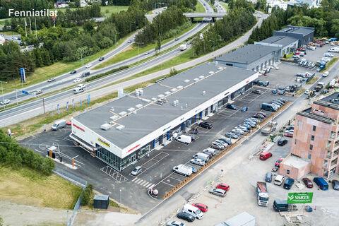 Toimitilat, Helsinki | Isonpellontie 7, Motorcenter Oulunkyla | ilmakuva
