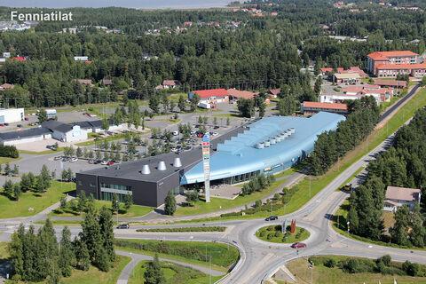 Toimitilat, Oulunsalo | Karhuojantie 2, Kauppakeskus Kapteeni | ilmakuva2
