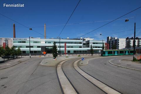 Toimitilat Helsinki | HTC Helsinki – Kon-Tiki | Kaapeliaukio 1 | julkisivukuva