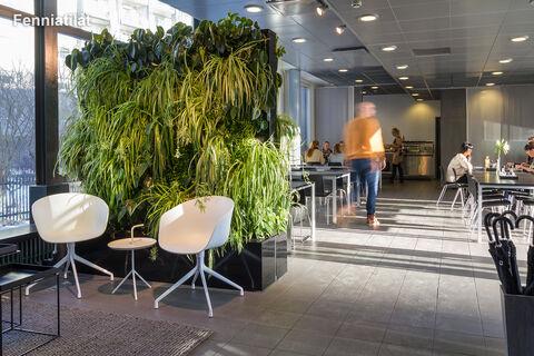 Toimitilat Helsinki | HTC Helsinki – Kon-Tiki | Kaapeliaukio 1 | ruokala