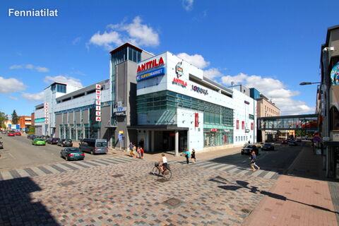 Toimitilat Joensuu | Kauppakeskus Metropol | Maakuva