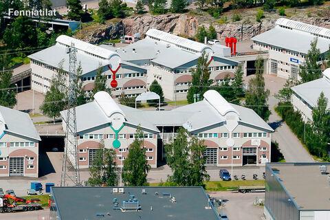 Toimitilat Vantaa   Koivuhaanportti   ilamkuva